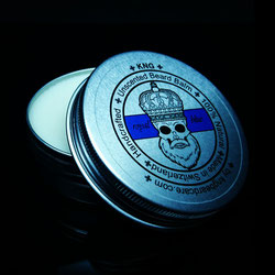 KNG BeardCare Bartbalm royal blue