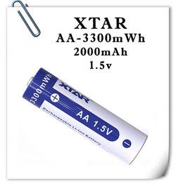 АА Xtar 2000mAh Li-ION 1.5v
