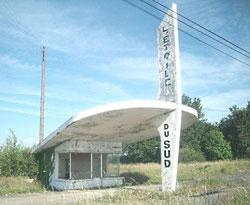 Une station abandonnée