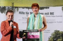 v.l. Prof. Carmen Scheibenbogen Charité & Nicole Krüger LVS