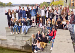Unsere neuen Studenten der Studiengänge Wirtschaftspsychologie, Gesundheits- und Tourismusmanagement sowie Sport- und Eventmanagement sind da!
