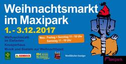 Ladies First Hamm auf dem Weihnachtsmark im Maxipark 1.-3.12.2017