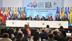 Imagen de la Asamblea General de la Organización de Estados Americanos (OEA).  Foto: © Servindi