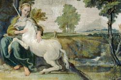La dama y el unicornio, Wikipedia