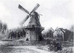 Windmühle  Müllerstraße 166 - Nähe Ringbahnbrücke