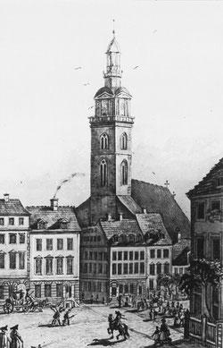 Marienkirche, 1750