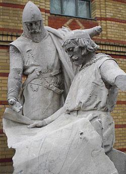 Die Markgrafen von Brandenburg Otto III. und Johann I.   © Ulrich Waak