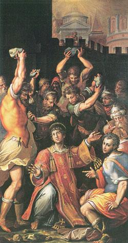 Giorgio Vasari - Die Steinigung des Hl. Stephanus