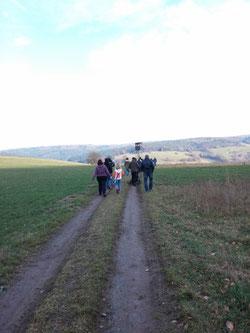 Unterwegs von der Hohen Warte zum Limousinhof mit perfektem Wanderwetter