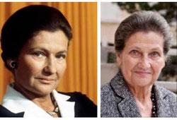 左:40歳の時 右:80歳の時