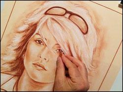 Portrait-d-apres-photo--crayon-sanguine