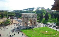 Обзорная пешеходная экскурсия в Риме, арка Константина