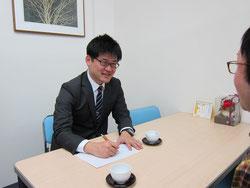 名古屋の会社登記・法人登記の相談風景