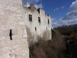 Château de Picquigny (Somme, Picardie) la façade SUD