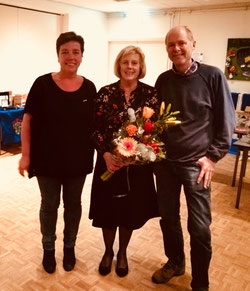 Karin de Veij, Miekje Hoffscholte en Herman Beijerbergen.