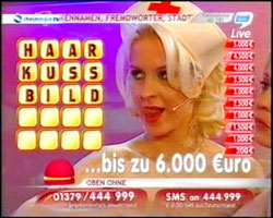 3Groschenvideo(s) - Ein beschaulicher später Freitag Abend im Deutschen Fernsehen  (man soll den Tag nichtvor dem Abend loben ...) - 2007 - Gabrielle Zimmermann