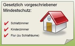 Rauchmelder - Gesetzlicher Mindestschutz für...