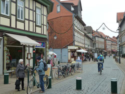 Shopping in Wernigerode