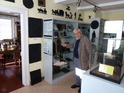 Gerhard Brackhahn im Heimatmuseum