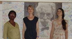 Solange Tookim, Delphine André, Cécile Guieu