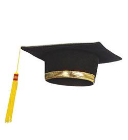 tocco laurea bordato oro