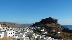 Lindos und seine Akropolis - Λίνδος και Ακρόπολη
