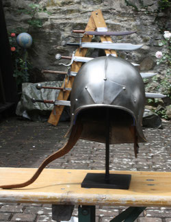 40 Rüstungshelm/Rig helmet