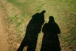 7 Menschenschatten/People shadows