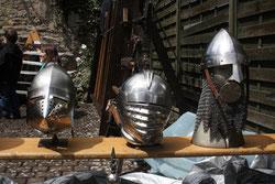 45 Rüstungshelme/ Rig helmets
