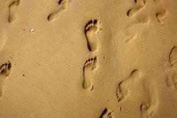 47 Fußabdrücke/Fooprints