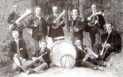 Die Musikkapelle im Jahr 1925