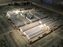 römisches Kastell Oberstimm, Modell