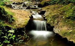 Wasserkaskade im Steinbachtal