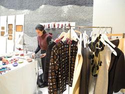 Textile Unikate aus Leinen und Wolle von Susanne Tuulikki Riecker