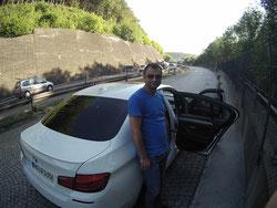 BMW Automatik Auto cool Sonnenbrille