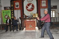Хигаонна Морио (Годзю-рю Каратэ-до) в гостях у Пань Ченьмияо (Юнчунь Байхэ Цюань)