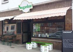 Die veganbar an der Admiralstraße, Bremen Findorff