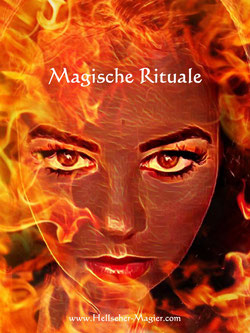 Magische Rituale, schwarze Magie, Schadenszauber, Schadensmagie. Rachemagie