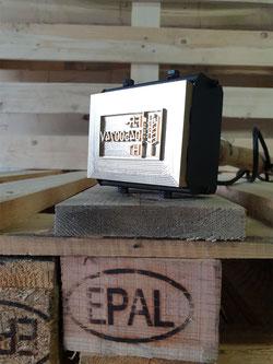 IPPC Brennstempel HLP inkl. gravierter Textplatte