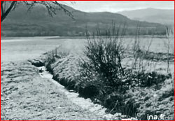 """irrigation """"Vie à Ste Croix du Verdon février 1957 capture d'écran"""