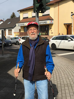 Werner Barkey heute: Immer noch aktiv und voll im Leben. (Foto: SPD Riegelsberg)