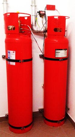 legalizacja butli FM-200 serwis systemów gaszenia gazem przegląd fm200 instalacje przeciwpożarowe