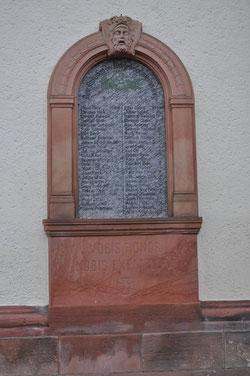Pflaumheim - Gefallene im Deutsch-französischen Krieg 1870/1871