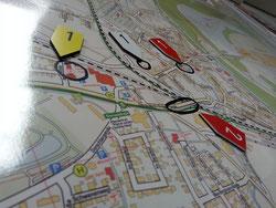Eine Lagekarte kann die Situation vor Ort übersichtlich darstellen
