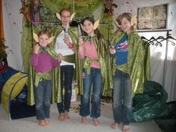 4 kleine Hobbits