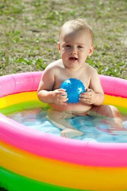 プールなどの除菌・水槽の除藻効果