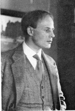 Siegfried Lang um 1914, Bild: Wikipedia