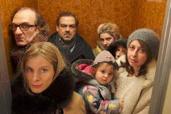 Michel Vuillermoz, Pascal Bourdon, Karin Viard, Valérie Bonneton: tout le monde veut échapper au grand partage (©Wild Bunch)