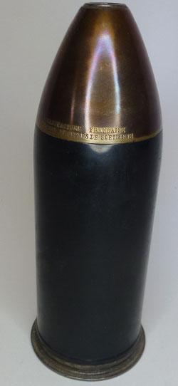 obus réducteur canon revolver Hotchkiss 57mm