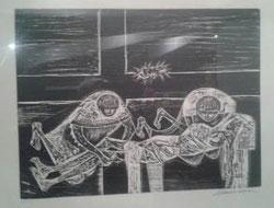 XIV Estación, Jesús es colocado en el sepulcro
